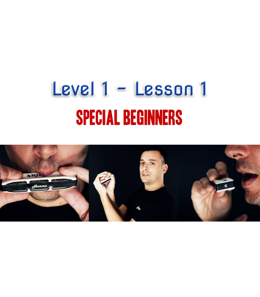 Harmonica School: Level 1 Lesson 1 - Unlimited Beginner  $24.90