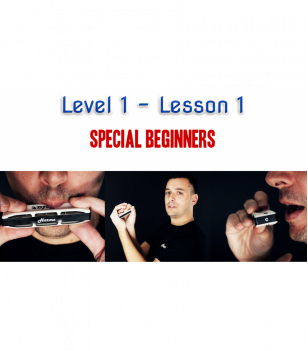 Harmonica School: Level 1 Lesson 1 - 7 days access Beginner  $14.90