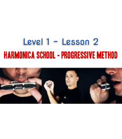 Harmonica School: Level 1 Lesson 2 - 7 days access Beginner  $14.90