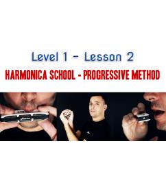 Harmonica School: Level 1 Lesson 2 - 7 days access Beginner  $14.90