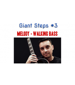 Giant Steps guitar arrangement melody - walking bass Guitar  $4.90