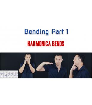 Bending Part 1 - Unlimited access Harmonica technique  $14.90