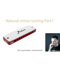 Natural minor harmonica: Red Carpet Part I Melody  $14.90