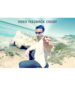 Video Feedback Credit Home  $25.00