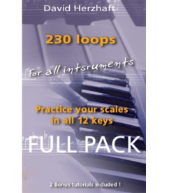 Loops for improvisation in all 12 keys Improvisation  $19.90