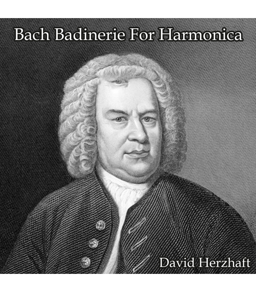 Bach Badinerie Bwv 1067: Harmonica lesson Classical  $14.90